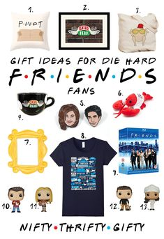 Friends tv show gi… Friends tv show gifts, fandom gifts, fandom gift ideas, friends tv gift ideas True Friends, Best Friends, Friends Moments, Friends Series, Funny Friends, Fandoms, Friends Tv Show Gifts, Ross And Rachel, Joey Tribbiani