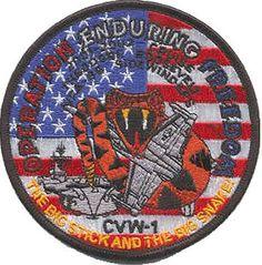 USS Theodore Roosevelt (CVN 71) CVW-1 Operation Enduring Freedom