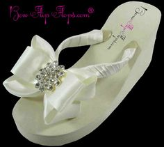 ced7c6c317d49 18 Best Bridal Flip Flops on Amazon images