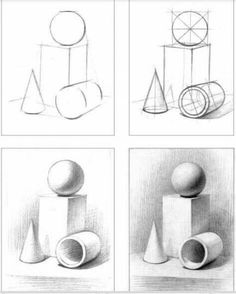 Zeichnen 40 geometric shape drawing ideas A short-cut to a smooth and healthy skin! Drawing Lessons, Basic Drawing, Drawing Techniques, Basics Of Drawing, Pencil Art Drawings, Drawing Sketches, Sketch Art, Drawing Ideas, Drawing Tips