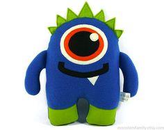 Monster Plush Toy Monster Stuffed Animal Woodland Animal Toy Monster Soft Doll Pillow Cushion Gift For Baby Boy Newborn Reveal Gift