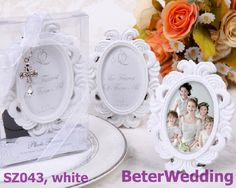 White The Fairest of Them All Enchanting Place Card Holder/Photo Frame SZ043/A       Unique Wedding Decorations上海倍乐礼品Shanghai Beter Gifts ;  #placecardholder #partyreception #cardholder #weddingdecoration  http://www.aliexpress.com/store/product/Honey-bee-Salt-and-Pepper-Shakers-5box-10pcs-TC019/512567_701222377.html