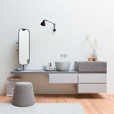 Contenitori componibili e accessori per il bagno Esperanto by Rexa Design