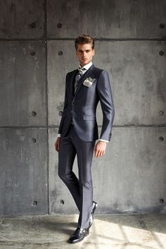 #CleofeFinati by Archetipo 2015 Men's Collection - Suit Mod. 15.1212 b01 - fabric 1309/94