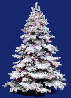 My lighted pretty in pink Victorian Christmas Tree.   Christmas ...