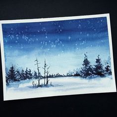WEBSTA @ watercolor.illustrations -  Watercolorist: @kama_draws#waterblog #акварель #aquarelle #painting #drawing #art #artist #artwork #painting #illustration #watercolor #aquarela