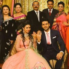As TV actor Divyanka Tripathi becomes the latest celebrity to opt for an arranged marriage, we find out what's drawing famous faces to this traditional form of matchmaking. Indian Engagement Photos, Engagement Photo Poses, Wedding Pics, Wedding Couples, Wedding Bride, Indian Wedding Couple, Indian Wedding Outfits, Pakistani Formal Dresses, Dress Formal