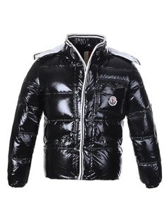High fashion Moncler Men Branson Black Jacket Just $249 CLICK IT!!