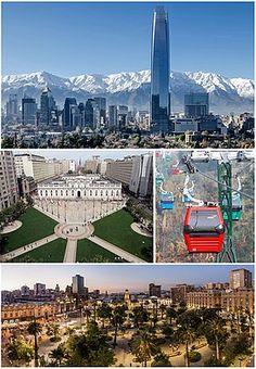 Santiago de Chile 🇨🇱 #CHILE #SantiagoDeChile #granSantiagoTower #palacioLaMoneda #cerroSanCristobal #chili #čile #cile #kile #tšilli Gaston, Marina Bay Sands, South America, Modern Architecture, Skyscraper, Cruise, Cityscapes, Country, World