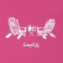086eb441371 Women s Watercolor Adirondack Chairs Crusher Long Sleeve Vee