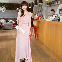 Women's Sleeveless Tall Waist Cultivate One's Morality Dress  – GBP £ 15.32