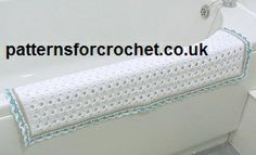 Free crochet pattern bathroom rug usa