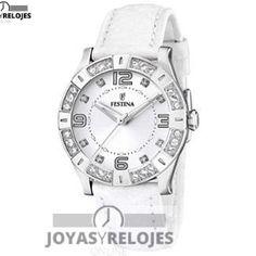 Fantástico ⬆️😍✅ FESTINA F16537/1 😍⬆️✅ , Modelo perteneciente a la Colección de RELOJES FESTINA ➡️ PRECIO 79 € Lo puedes comprar en 😍 https://www.joyasyrelojesonline.es/producto/festina-f165371-reloj-de-mujer-de-cuarzo-correa-de-piel-color-blanco/ 😍 ¡¡Edición limitada!! #Relojes #RelojesFestina #Festina Compralo en https://www.joyasyrelojesonline.es/producto/festina-f165371-reloj-de-mujer-de-cuarzo-correa-de-piel-color-blanco/