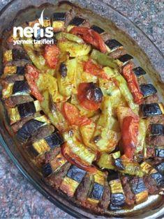 Patlıcanlı Karışık Kebap