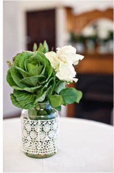 Spruce up a simple vase