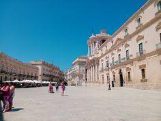 Piazza Duomo in Siracusa, Sicilia