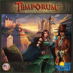 Temporum is a fun new Time Travel Board Game with a Steampunk feel to it by Donald Vaccarino.