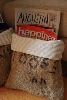 Kays Creative Blog: kaffeesäcke TEIL 2