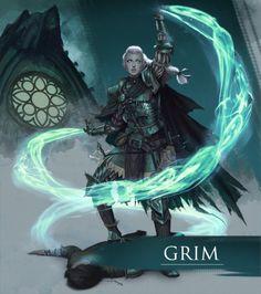 Grim, by Forrest Imel