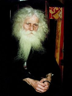 Orthodox monk, Mt Athos.