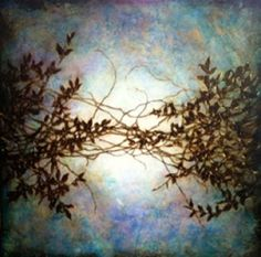 Elisa Contemporary Art Michelle  Gagliano Wisteria in Blue
