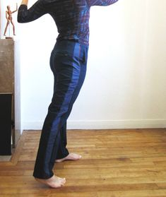 Refashion Co-op: How I enlarged my trousers
