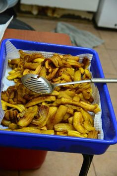 Plantains prepared by the Young Living Academy kitchen staff.