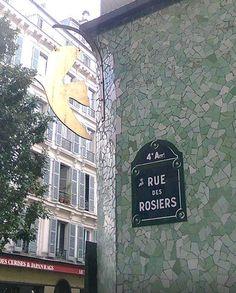 La rue des Rosiers  (Paris 4ème).