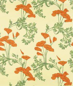 Poppy Wall (Orange)