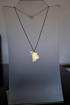 Direwolf House Stark Necklace Game of Thrones by AubergDesigns, $45.00