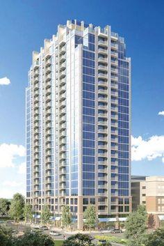 Skyhouse I / 24 Stories / 336 Unit Apartment / 264'