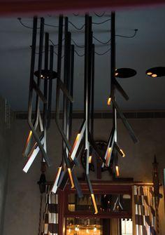 .PSLAB (Бейрут, Ливан). Светильники для ресторана — «Д.Журнал» — журнал о дизайне и архитектуре