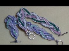 Make a Crystal Lace Bracelet - YouTube