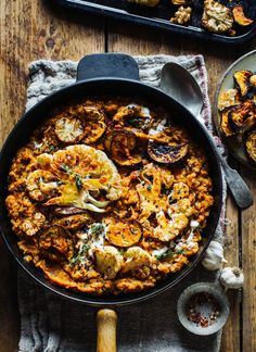 Smokey Lentils with Harissa Roast Cauliflower & Aubergine - .-Smokey Lentils with Harissa Roast Cauliflower & Aubergine – Rebel Recipes Smokey Lentils with Harissa Roast Cauliflower & Aubergine - Easy Healthy Recipes, Veggie Recipes, Paleo Recipes, Easy Meals, Cooking Recipes, Red Lentil Recipes, Grill Recipes, Super Food Recipes, Quick Recipes For Dinner