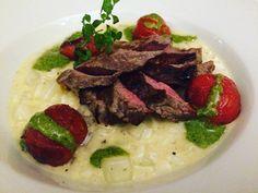 #tagliata #moorochse #kohkrabi #risotto #lilasontour #kulinarium #petersbrau