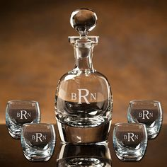 Personalized Engraved Scotch Whiskey Decanter for Wedding, Groomsmen or Men's Gift Best Gifts For Men, Gifts For Husband, Gifts For Boys, Funny Personalised Gifts, Whiskey Decanter, Crystal Decanter, Scotch Whiskey, Corporate Gifts, Boyfriend Gifts