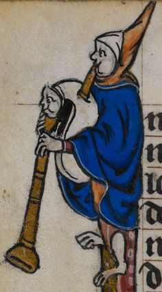 Detail from medieval manuscript, British Library Stowe MS 17 'The Maastricht Hours', f109v