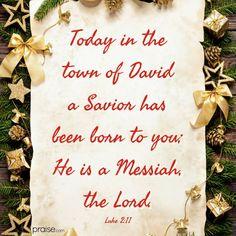 Jesus Is Lord, God, Luke 2 11, Living Water, Savior, Festive, Christ, Bible, Study