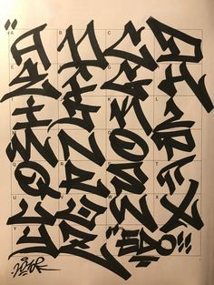 Graffiti Letters: 61 graffiti artists share their styles | Bombing Science