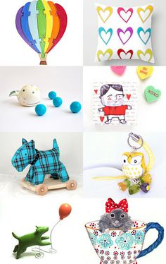 Spring Colors! by Kristin Morrison on Etsy--Pinned with TreasuryPin.com