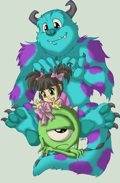 Laughter Is Ten Times More Powerful Than Screams. Monsters Inc