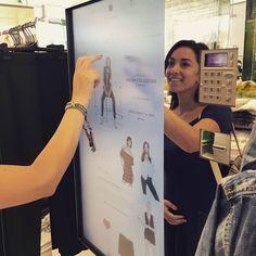 Missione #expomilano2015 per la nostra #OVSPEOPLE @mariannalagani!  Alla scoperta di sapori, colori e... nuove tecnologie grazie allo speciale Interactive Kiosk dello store #OVS!