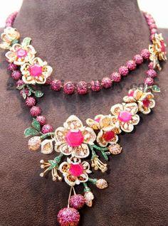 Tibarumal Crystal Balls Necklace