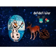 Thé starring character in Frozen.. i love you olaaaaf @delideli.isler