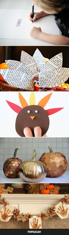 These 10 Thanksgiving Day Crafts Are Pretty Much Guaranteed to Keep Kids Engaged