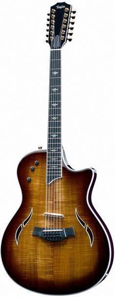 Beautiful Custom Koa 12 String Taylor Guitar