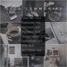 Vsco Cam Filters, Vsco Filter, Photography Filters, Photography Editing, Vsco Effects, Vsco Feed, Vsco Themes, Photo Editing Vsco, Aesthetic Filter