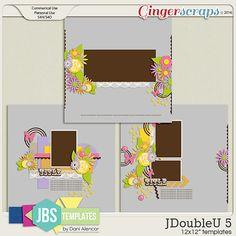 JDoubleU 5 Templates (Commercial Use)