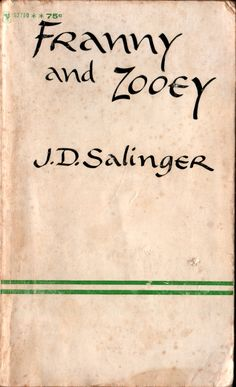 I've likes Salinger for a long time, even though reading his work almost always seems to depress me..lol