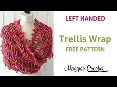 Trellis Wrap - Free Crochet Pattern – Maggie's Crochet